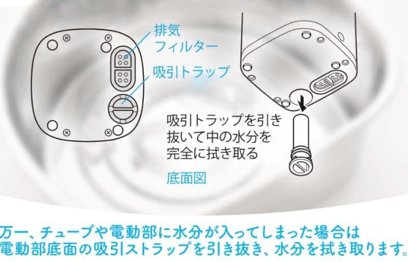 ピジョン鼻吸引器