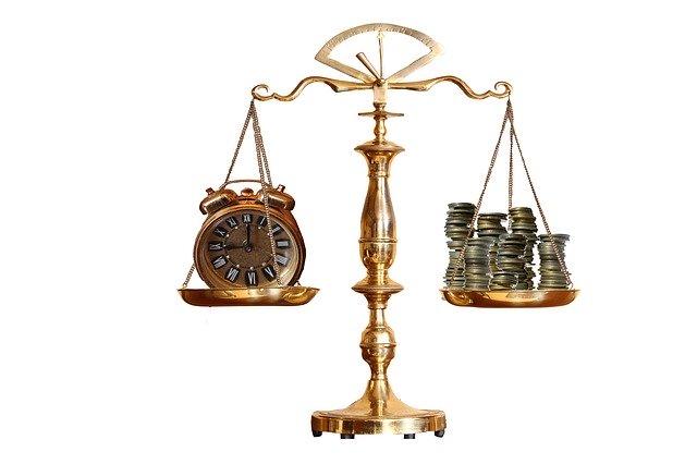時間とお金の比較