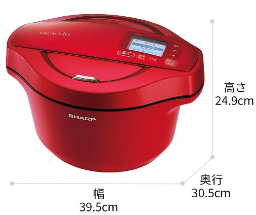 【出典】シャープホットクックサイズKN-HW24F